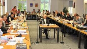 Sitzung eines Untersuchungsausschusses Bayerischer Landtag (Symboldbild)