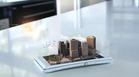 Smartphone Häuser City