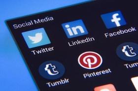 Social-Media-Kanäle auf Smartphone