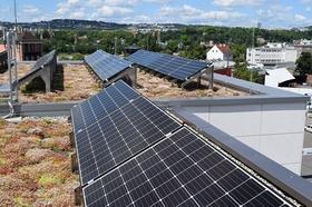 Solar-Gründach