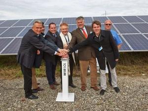 Wohnungsunternehmen investieren in Solarpark