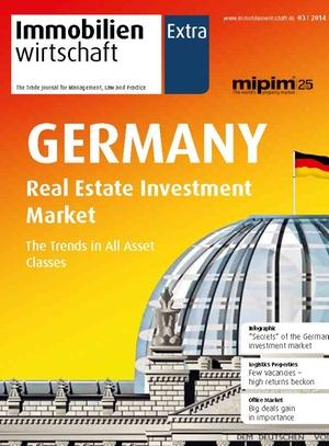 Sonderveröffentlichung Immobilienwirtschaft zur Mipim 2014