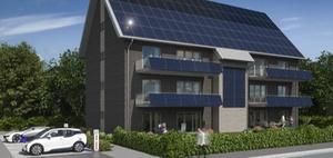 Spar+Bau Wilhelmshaven baut energieautarkes Mehrfamilienhaus