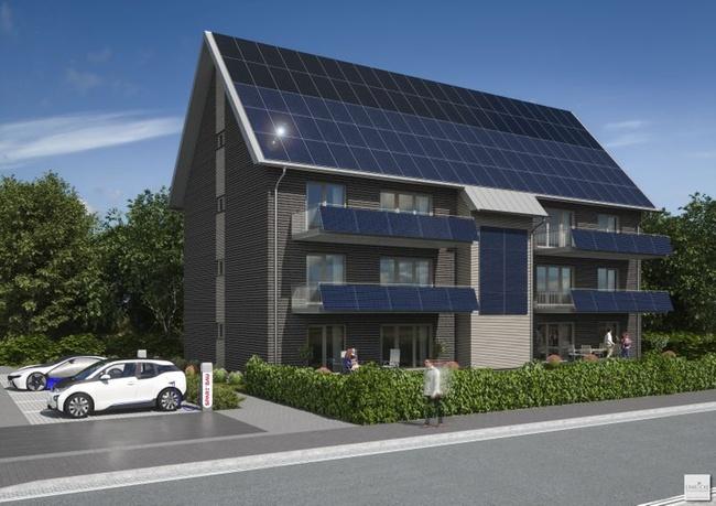 spar bau wilhelmshaven baut energieautarkes mehrfamilienhaus immobilien haufe. Black Bedroom Furniture Sets. Home Design Ideas