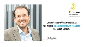 Steffen Szeidel, Drees & Sommer - Podcast Bild