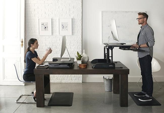 ikea schreibtisch zum stehen. Black Bedroom Furniture Sets. Home Design Ideas