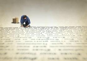 Stellenanzeigen texten Buchstaben