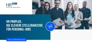 """Stellenmarkt """"HR Pro +"""" für Personaler"""