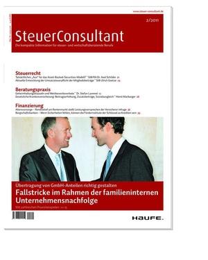 SteuerConsultant Ausgabe 2/2011 | SteuerConsultant