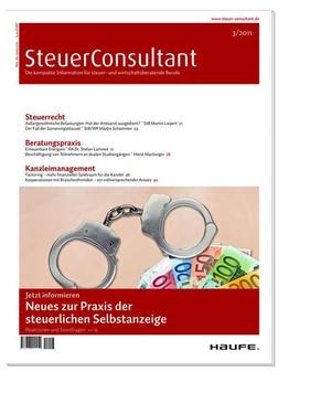 SteuerConsultant Ausgabe 3/2011   SteuerConsultant