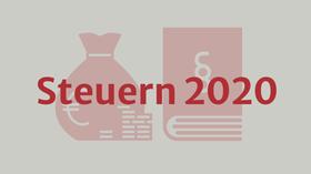 Steuern 2020