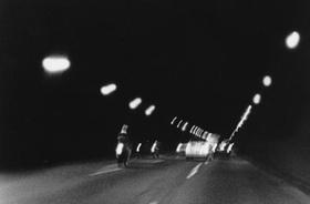 Straße dunkel