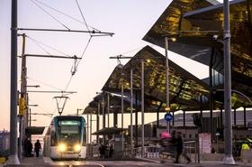 Straßenbahn in Barcelona