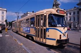 Straßenbahn in Brüssel