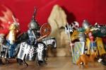 Streit unter Playmobilfiguren