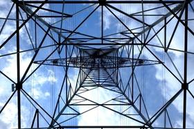 Strom Strommast Mast Himmel
