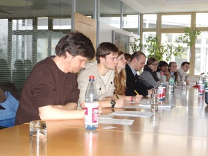 Studenten: Besichtigung der Projekte Wohnart3 und greenageone