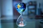 Stundenglas Klima Klimaschutz
