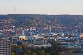 Stuttgart - Stadtansicht Skyline