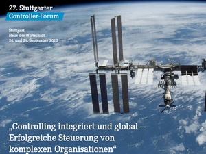 Veranstaltungsvorschau Stuttgarter Controller-Forum 2013