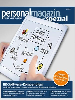 HR-Software-Kompendium mit HCM-Branchenmonitor 2016