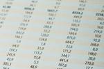 Tabelle mit Zahlen
