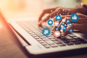 Tastatur social media