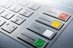 Tastatur eines Bankautomaten