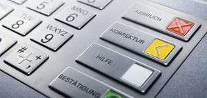Bank trägt Beweislast für fehlerfreie Auszahlung am Geldautomaten
