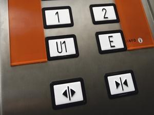 Gefangen im Aufzug