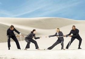 Gerade in diversifizierten Teams sollten alle in die richtige Richtung an einem Strang ziehen.