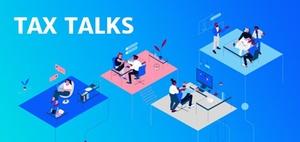 Am Online Event Tax Talks teilnehmen und inspirieren lassen