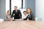 Team am Tisch