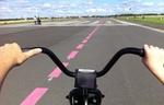 Tempelhofer Feld Freizeit Landebahn Fahrrad