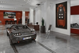 Tesla Motors Showroom