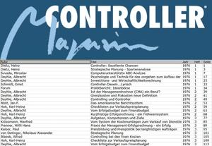 Controller Magazin: Thementafel ermöglicht Recherche