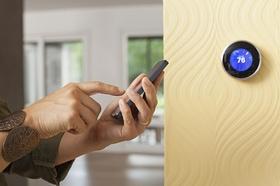 Thermostat wird über Handy bedient