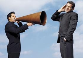 Tipp 4: Sprechen Sie, bevor Sie schreien.