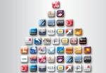 Titelmontage App-Logos alle im Überblick