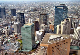 Tokio Zentrum_Blick vom Rathaus-Turm