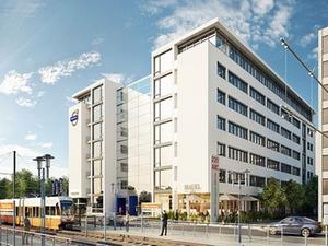 Strabag stellt Torhaus des Büro-Campus-Deutz fertig