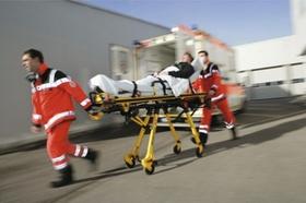 Transport ins Krankenhaus