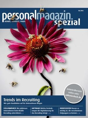 Personalmagazin Spezial Trends im Recruiting 2016