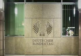 Tür Deutscher Bundestag