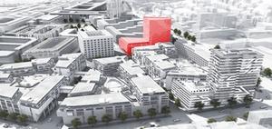 Stuttgart: Strabag plant Büroturm im Europaviertel