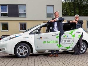Wohnungswirtschaft: Elektro-Auto als Mitgliedermobil