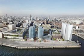 Überseequartier Süd Hamburg HafenCity