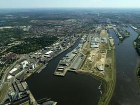 Überseestadt Bremen Luftbild