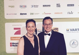 Ulrike Silberberg und Axel Gedaschko bei GreenTec Awards