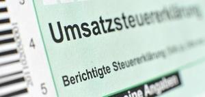BMF: Muster der Umsatzsteuererklärung 2017